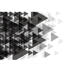 White and black abstract background design vector