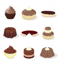 french patisserie vector image vector image