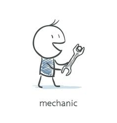 Mechanic vector image vector image