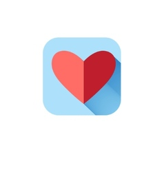 In love icon heart vector image vector image