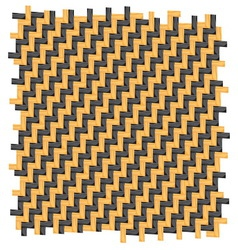 patern zig zag vector image