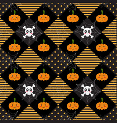 Pattern halloween geometry vector