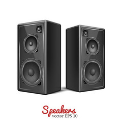 Sound speaker loudspeaker icon vector