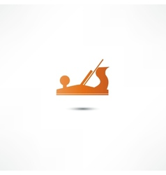 Jointer plane icon vector image