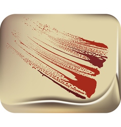 blood stain vector image