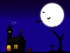 The Halloween vector image