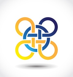 Celtic symbol vector image vector image