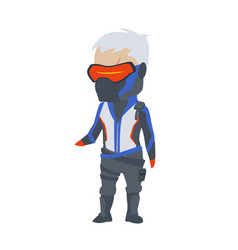 Blizzard overwatch soldier76 clipart vector