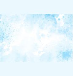 Blue watercolor splash background eps10 vector