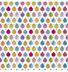colorful hand drawn seamless pattern with vector image