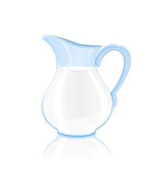 jug of milk vector image