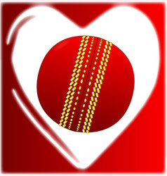 love cricket vector image
