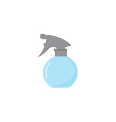 water spray flat icon the tool for hairdresser vector image