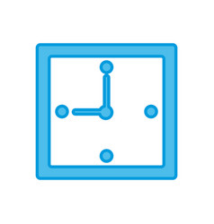 wall clock time vector image