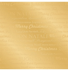 seamless multilingual christmas pattern vector image