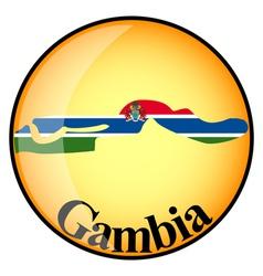 Button Gambia vector