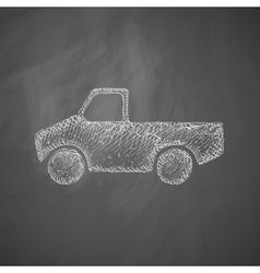 car pickup icon vector image