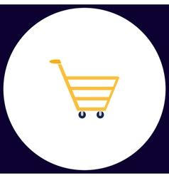 Cart computer symbol vector