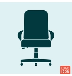 Chair icon isolated vector