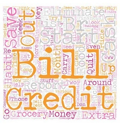 Kill bills text background wordcloud concept vector