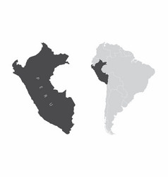 peru south america vector image