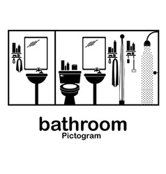 Pictogram design vector