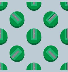 sharpener seamless pattern vector image