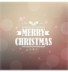 Retro Christmas Banner vector image vector image