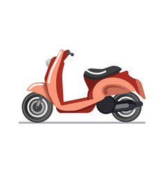 scooter or motorbike vehicle isolated icon vector image vector image