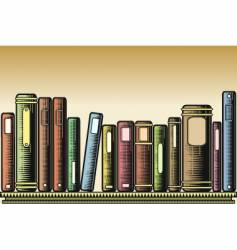 woodcut books vector image vector image
