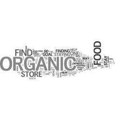 What you should know about organic food store vector
