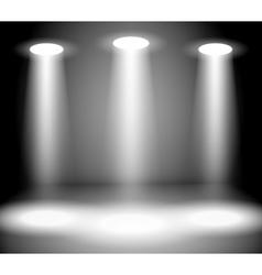 Reflector Lights vector image