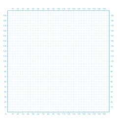 Real size millimeter engineering paper vector image