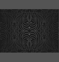 seamless black and gray vintage texture vector image vector image