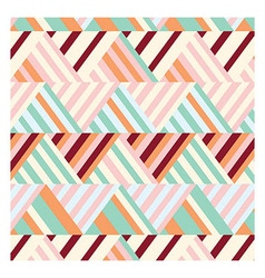 Bohemian Stripe Pattern vector