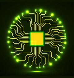 Cpu microprocessor microchip vector