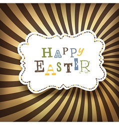 Easter rays vector