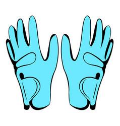 golf glove icon icon cartoon vector image