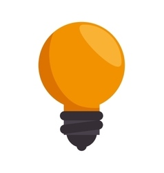 Idea bulb creativity icon design vector