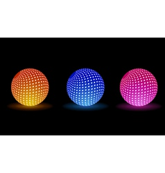 Light balls for your party vector
