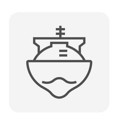 natual gas icon vector image