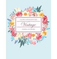 Shabby-chic background vector image