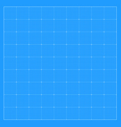 Square blueprint background vector
