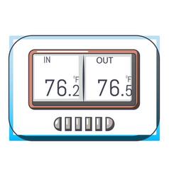 Tonometer icon cartoon style vector