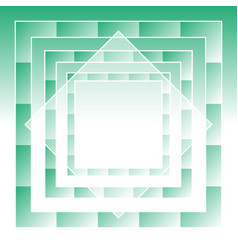 Green abstract geometric background vector