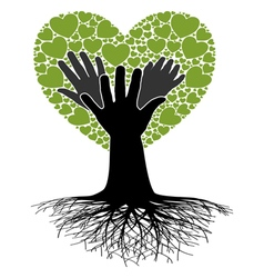 Family Tree-Hand vector image vector image