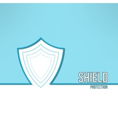 shield background made in modern clean and vector image vector image
