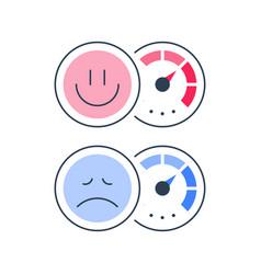 Client opinion poll customer attitude vector