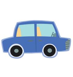 cute blue car toy vector image