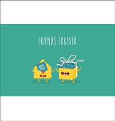 gift invitation vector image